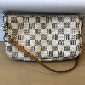 Louis Vuitton Pochette Clutch Damier Azur